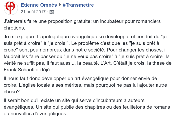message Etienne