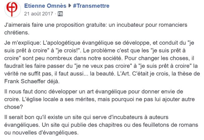message Etienne
